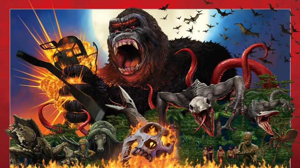 ネタバレ『キングコング:髑髏島の巨神』─小ネタ満載!徹底解説!─感想・解説・評価